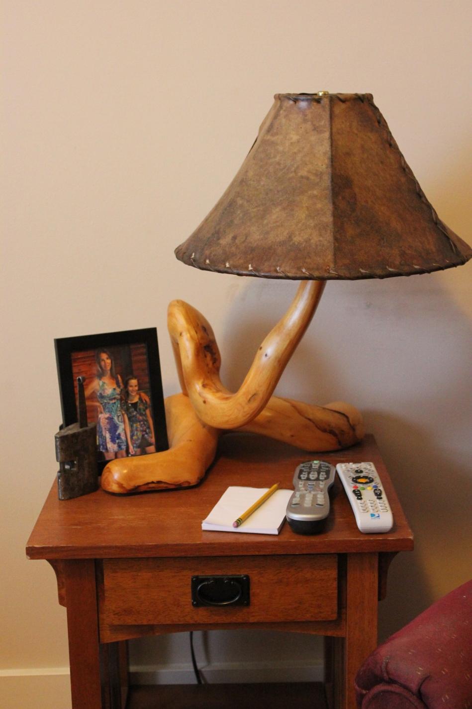 Office table lamp c jack waller jrs southwest montana tree art my tree art appreciation office table lamp geotapseo Gallery